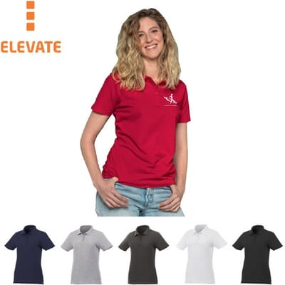 Polo personalizzate Elevate Liberty