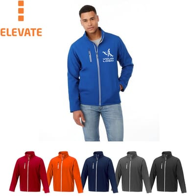 Giacche softshell personalizzate Elevate ORION