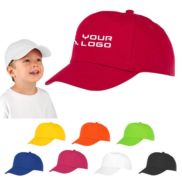 Cappellino bambini 5 pannelli Feniks