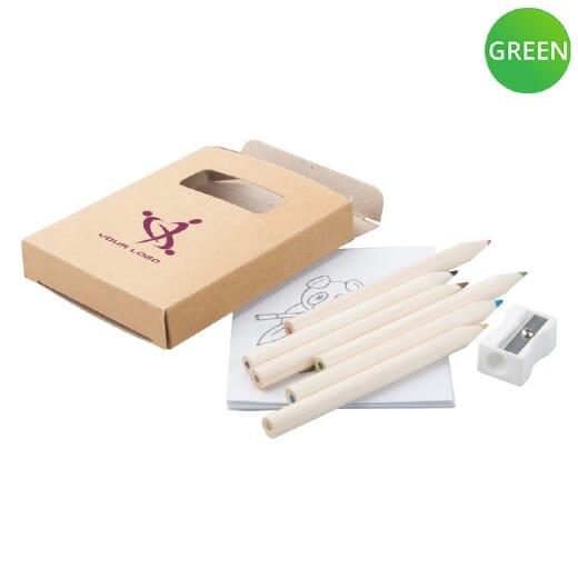 Set matite legno Figgy