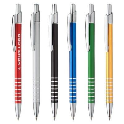 Penna pubblicitaria in metallo Vesta