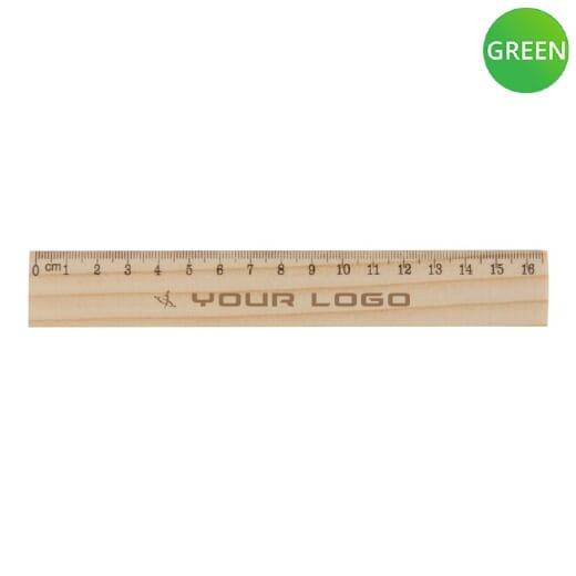 Righello in legno ONESIX