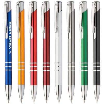 Penne personalizzate in metallo CHANNEL