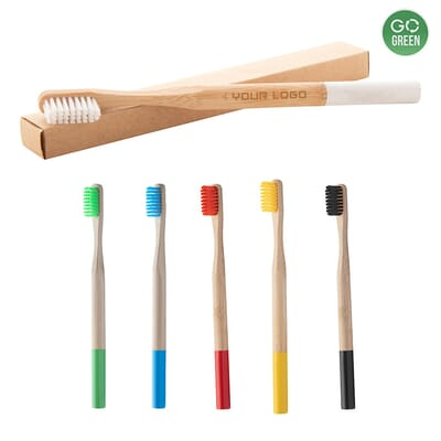 Spazzolino da denti in bambù ColoBoo