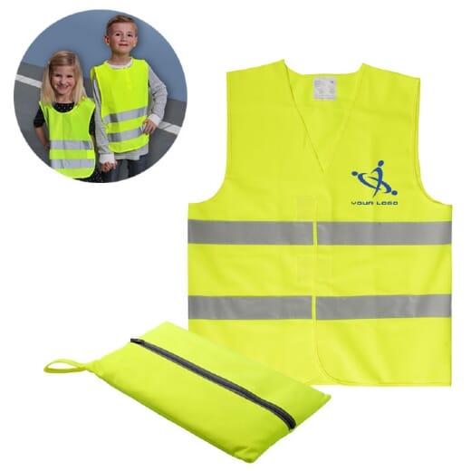 Gilet alta visibilità bambini Visibo Mini