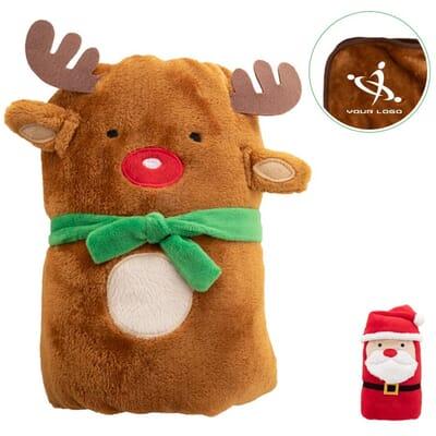 Coperta natalizia in pile HUGGER