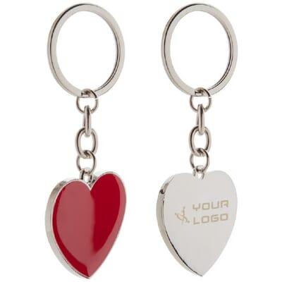 Portachiavi personalizzati cuore VALENTINE