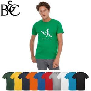 T-shirt da uomo in cotone 185gr B&C #E190