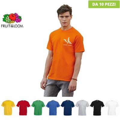 T-shirt da uomo Fruit of the Loom VALUEWEIGHT