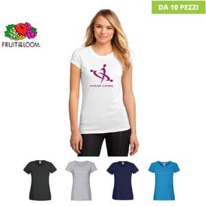 T-shirt Fruit Of The Loom Ladies ORIGINAL T