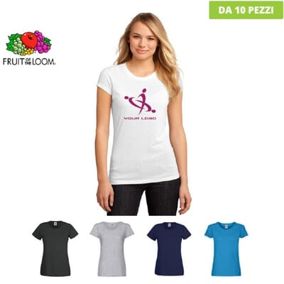 Fruit Of The Loom T-shirt Original T Lady Fit