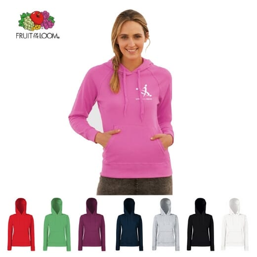 Fruit Of The Loom Classic Hooded Sweat Lady-fit