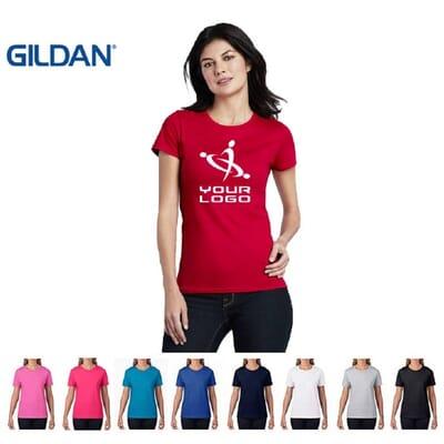 Magliette Gildan Premium Cotton da donna.