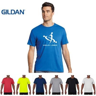 T-shirt sportive da uomo Gildan PERFORMANCE