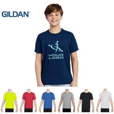 Maglietta Gildan PERFORMANCE da bambino