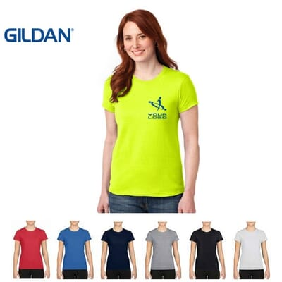 T-shirt sportive da donna Gildan PERFORMANCE