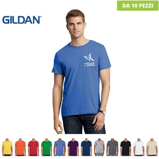 Magliette Gildan Soft-style da uomo