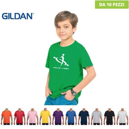 T-shirt Gildan SOFT STYLE da bambino