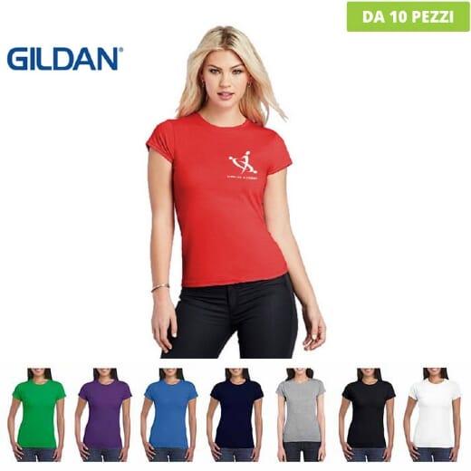 Tshirt da donna Gildan Soft-Style Lady