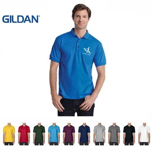 Polo Gildan Soft Style Doppio Piquè UOMO