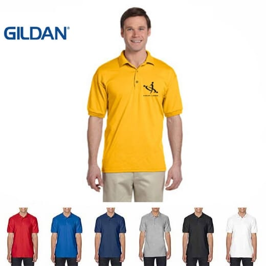 Polo Gildan da uomo PREMIUM COTTON