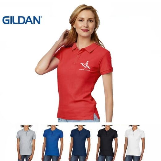 Polo da donna Gildan Premium Cotton