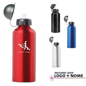 Borracce in alluminio BISCING - 600 ml