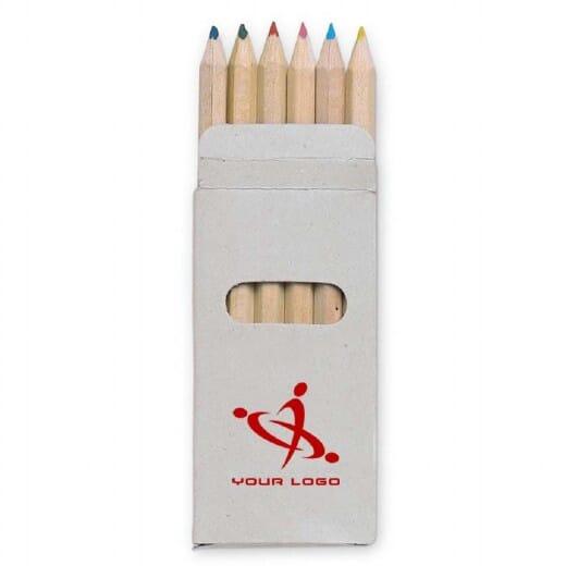 Set 6 matite colorate  ABIGAIL