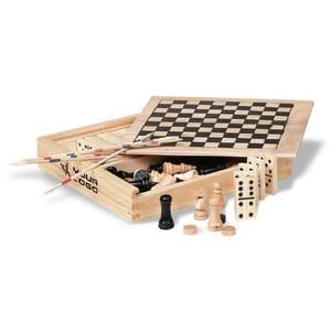 Set giochi 4in1 in legno TRIKES