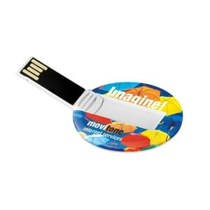 Chiavetta USB ROUND CARD