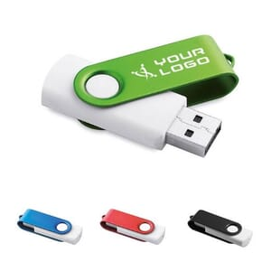 Chiavetta USB TWISTER WHITE