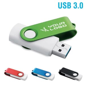 Chiavetta USB TWISTER WHITE 3.0