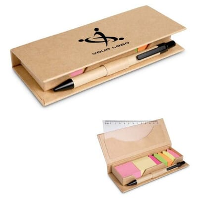 Set penna in custodia cartone  STIBOX