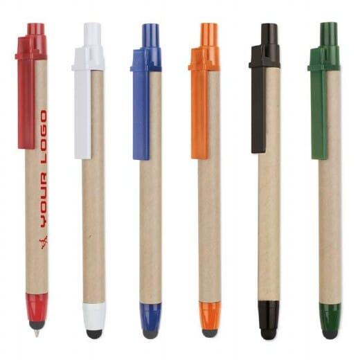 Penna in cartone riciclato RECYTOUCH