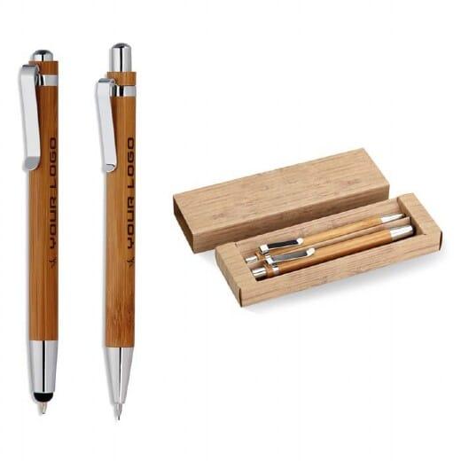Set penna e matita in bambu  BAMBOOSET