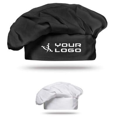 Cappello da cuoco in cotone 1 CHEF