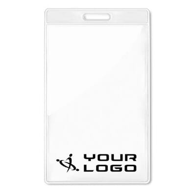 Porta badge trasparente 7,5x12 BADGO