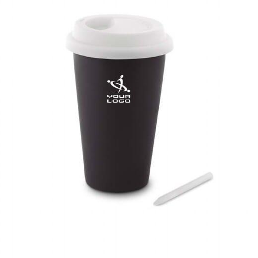 Bicchiere lavagna CHALCKY TUMBLER - 350 ml