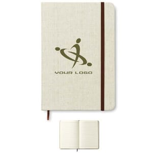 Notebook con cover in canvas CANVAS
