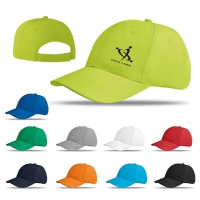 Cappellino da 6 pannelli BASIE