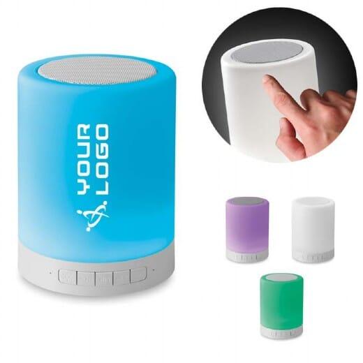 Speaker con luce da tavolo TATCHI