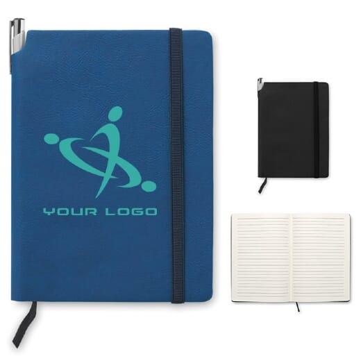 Notebook a righe in PU A5 SOFTNOTE