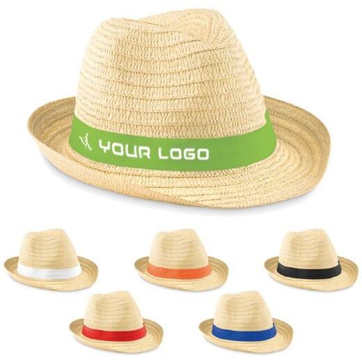 Cappello di paglia naturale BOOGIE