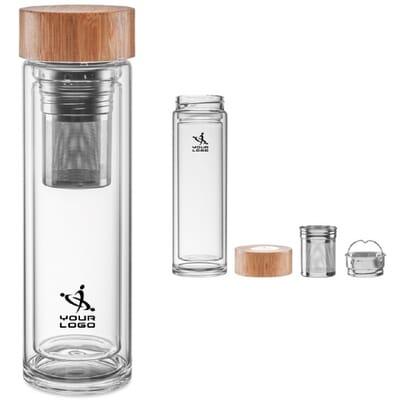Borraccia BATUMI GLASS - 420 ml