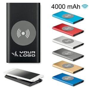 Power bank 4000mAh POWER&WIRELESS