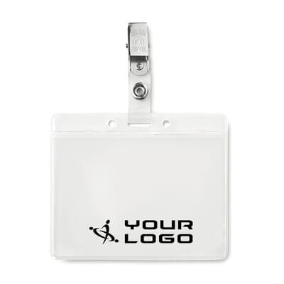 Porta badge in PVC CLIPBADGE