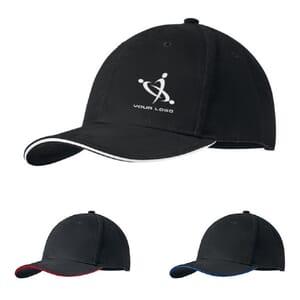 Cappellino 6 pannelli DUNEDIN