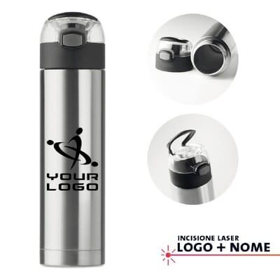 Borraccia in acciaio NUUK LUX - 400 ml
