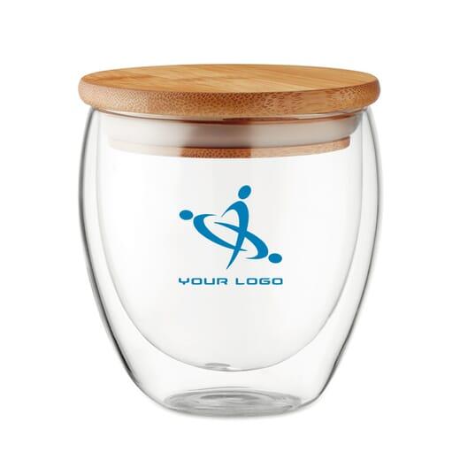 Bicchiere in vetro TIRANA SMALL - 250 ml