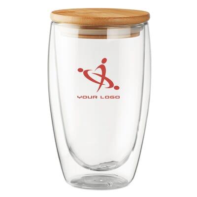 Bicchiere in vetro TIRANA LARGE - 450 ml